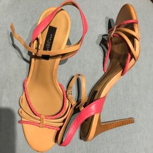 Shoes - Ann Taylor Heeled Sandals